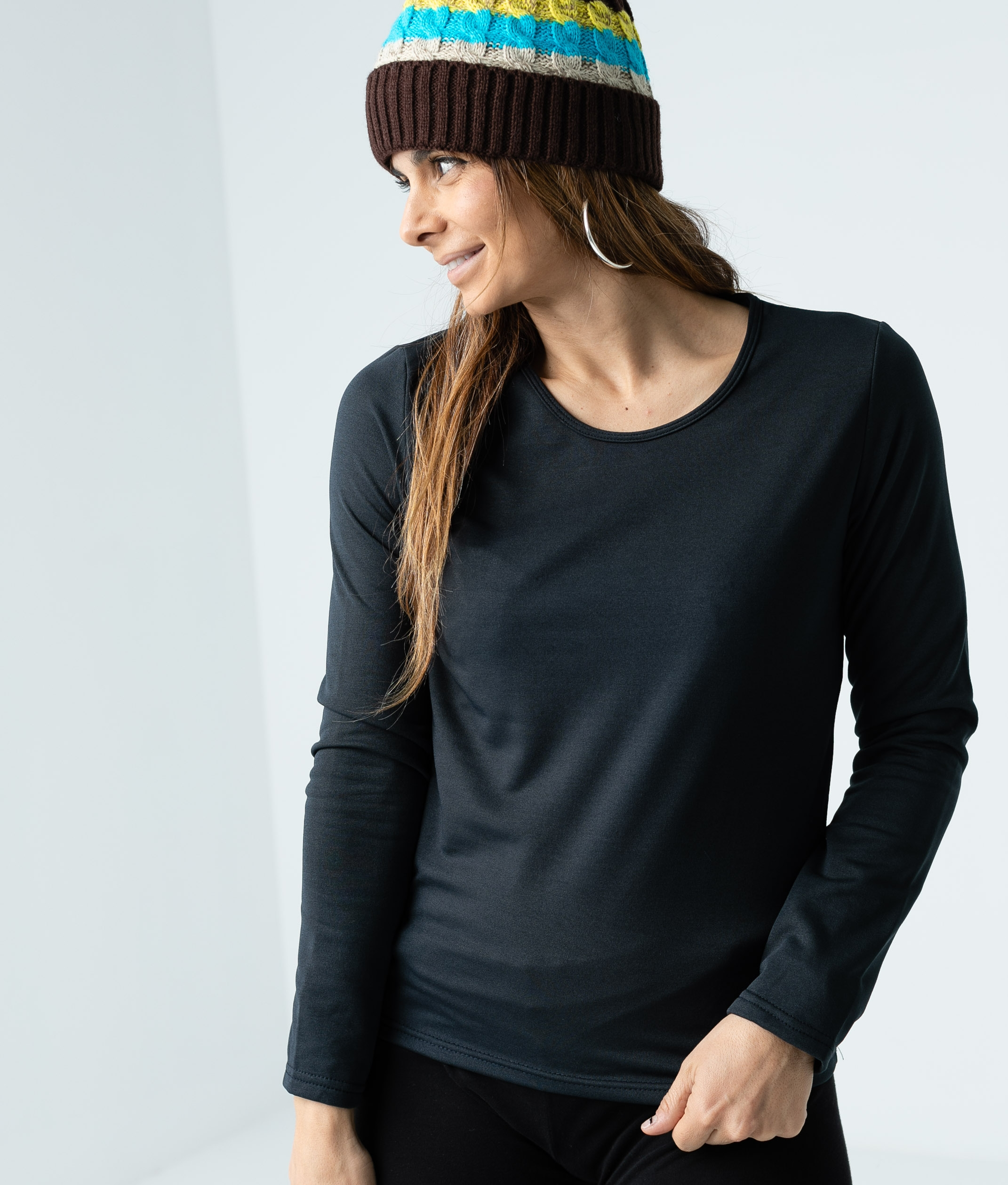 Camiseta GARDER - Negro