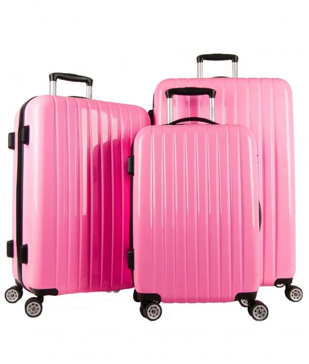 Suitcase Milan 3 Pieces - Pink