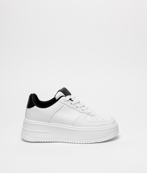 Sneakers Patin - White/Black