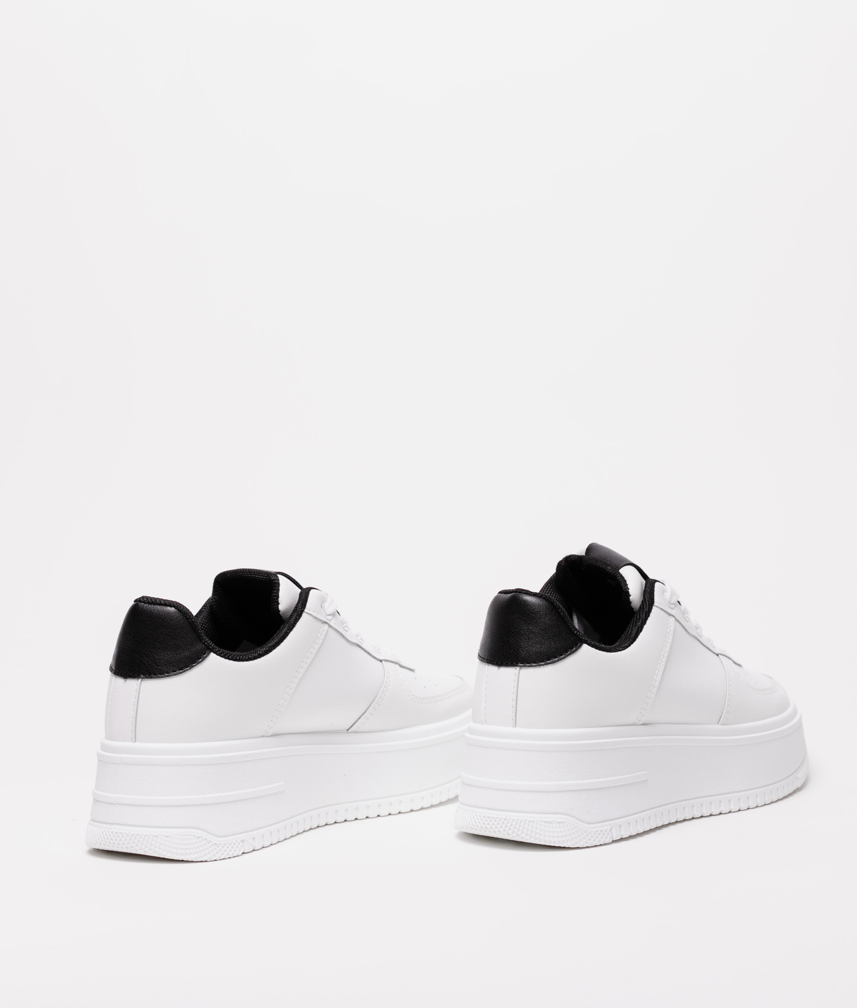 Sneakers Patin - Blanc/Noir