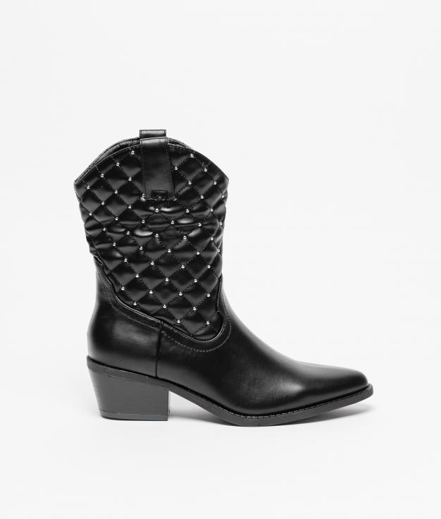 Boot Font - Black