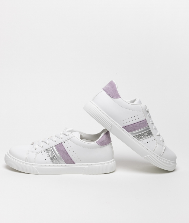 Sneakers BAREY - PURPLE