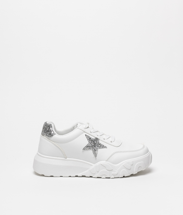SNEAKERS LUPIS - PLATA