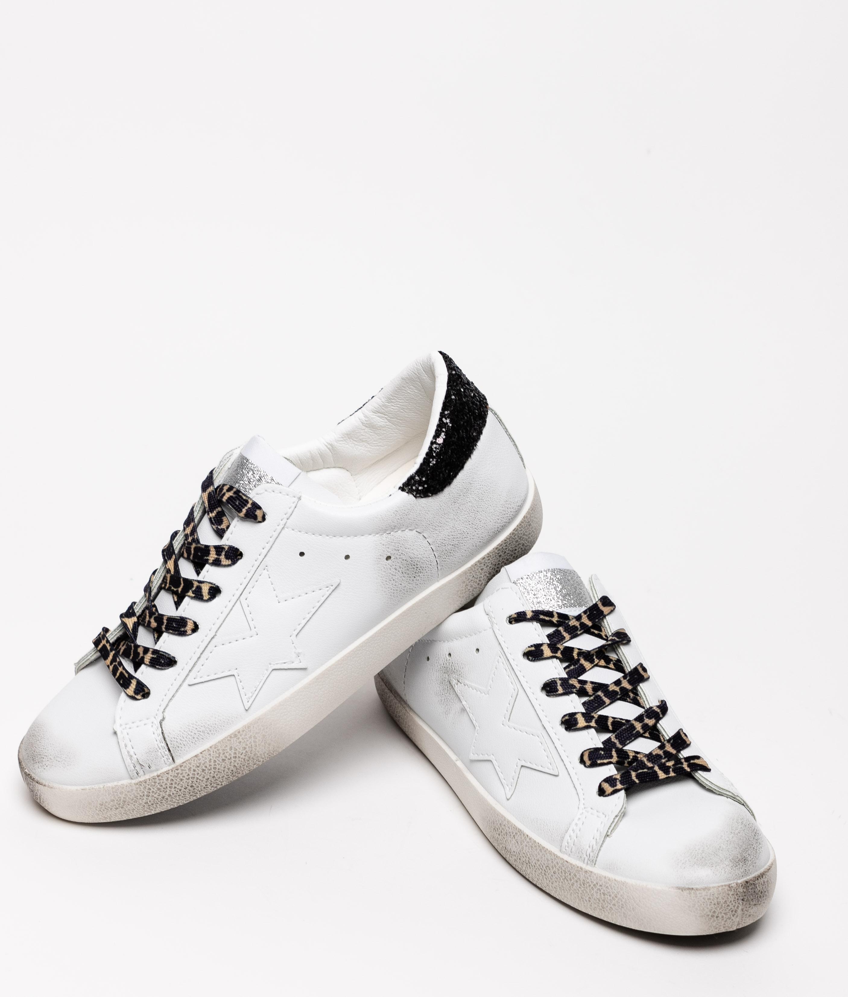 Sneakers Colir - Blanc/Noir