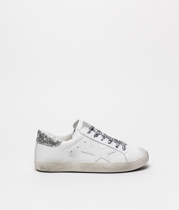 Sneakers Colir - White/Silver