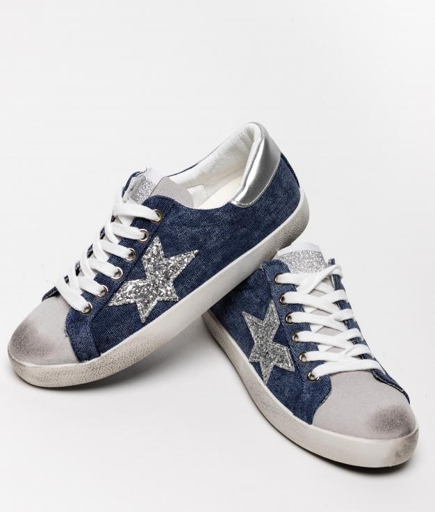 Sneakers Colir - Jeans