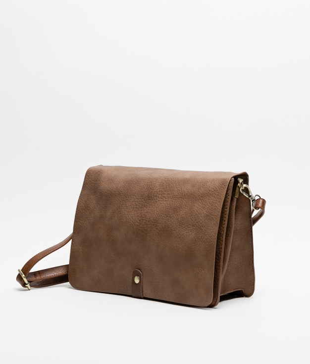 HUNT BAG - BROWN