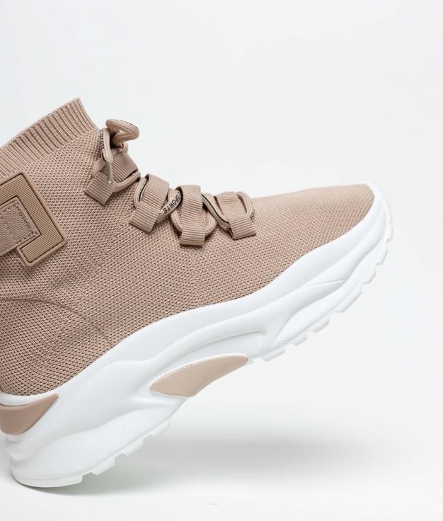 Sneakers Kepor - Kaki
