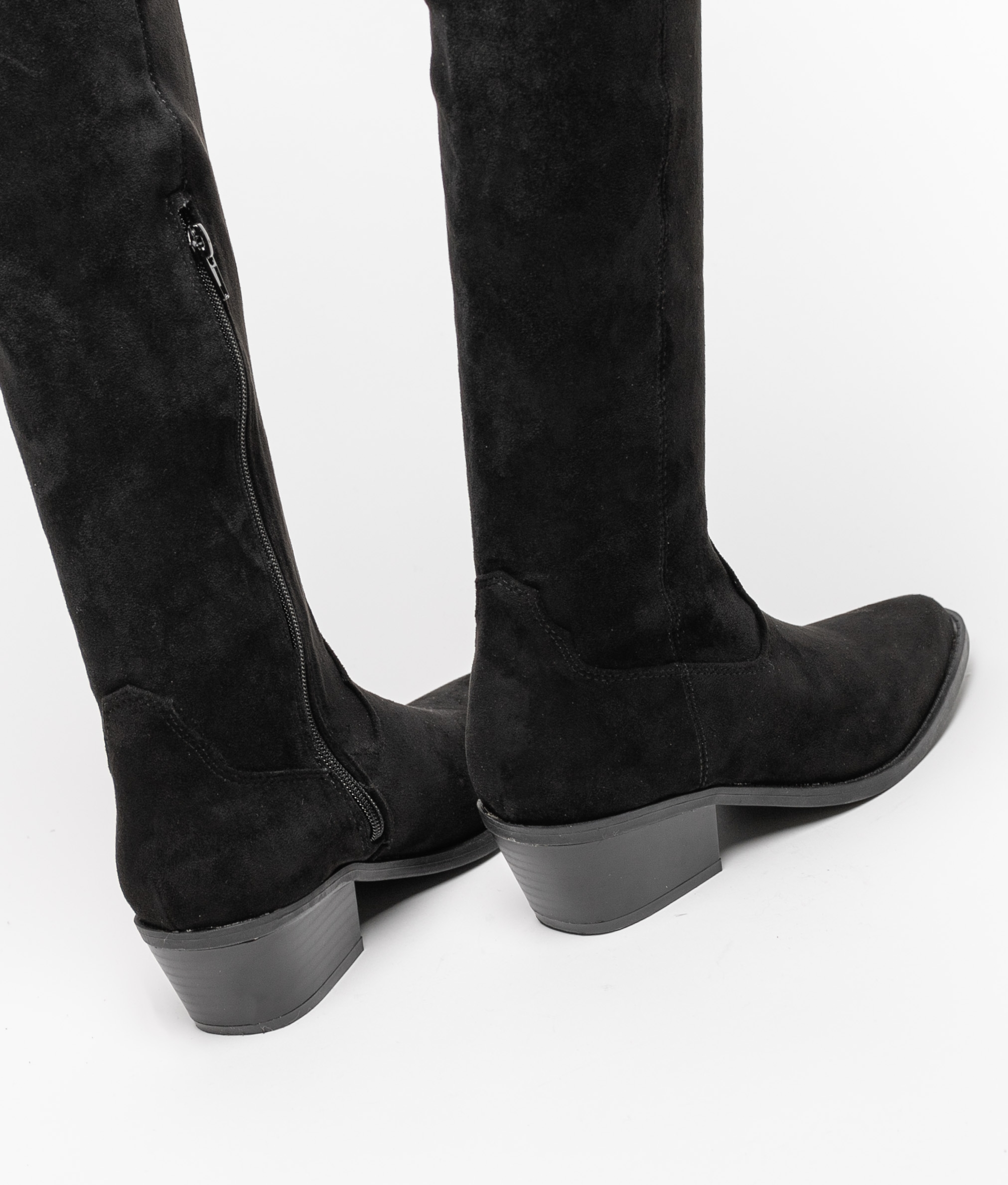 Knee-length Boot Crusti - Black