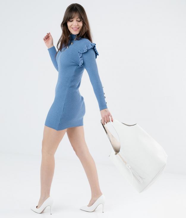 DRESS CHALEY - BLUE