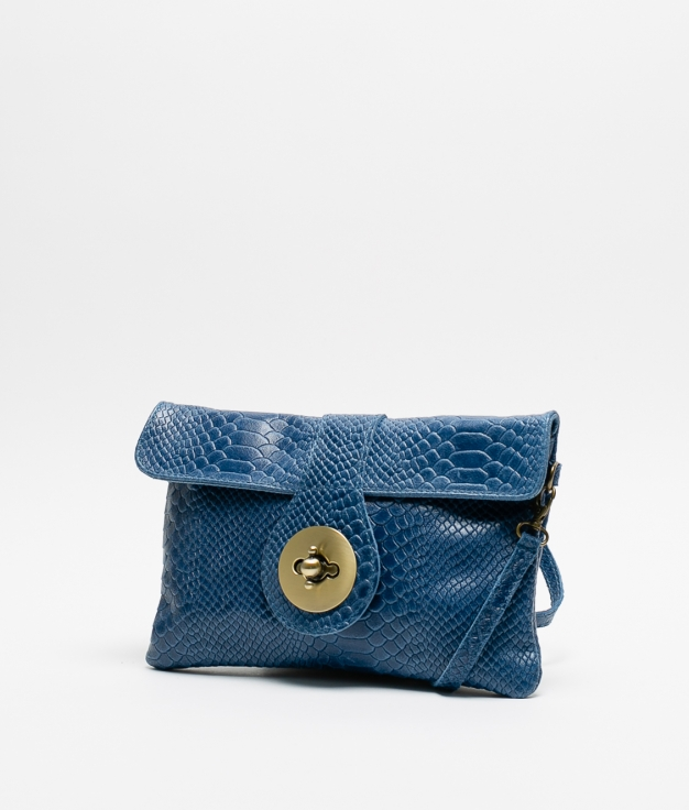 YUSI LEATHER BAG - KLEIN BLUE