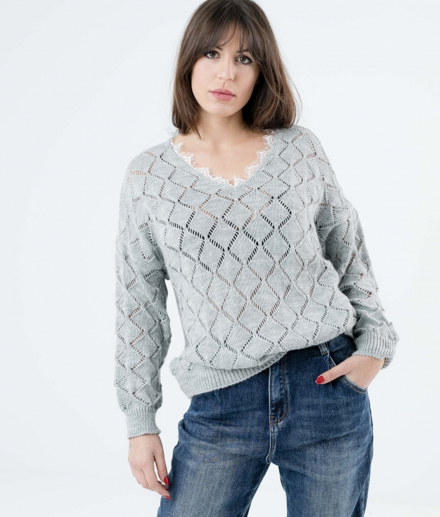 SWEATER ALODI - GREY