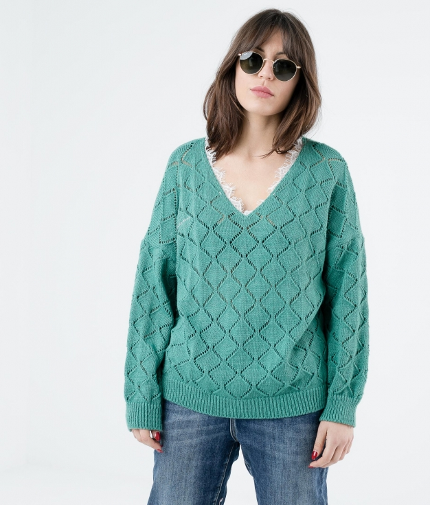SWEATER ALODI - GREEN