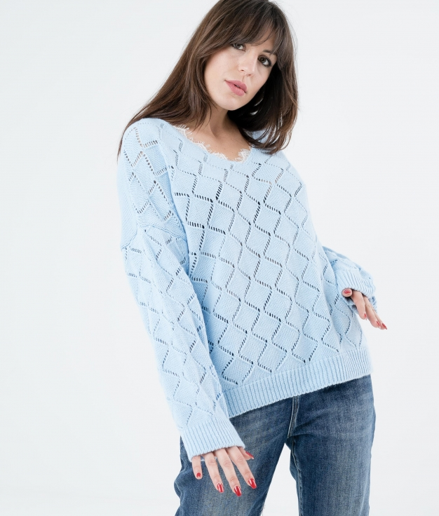 SWEATER ALODI - BLUE