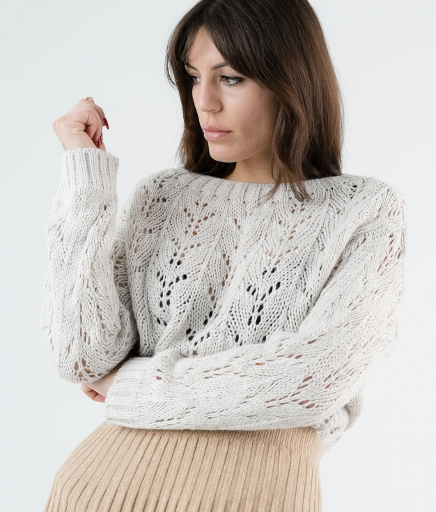SWEATER AREVA - BEIGE
