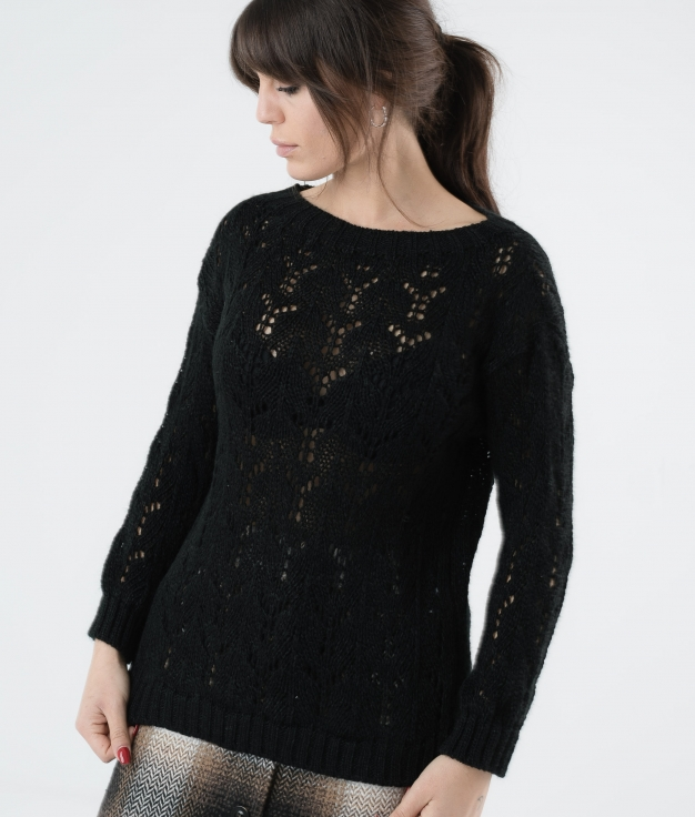 SWEATER AREVA - BLACK