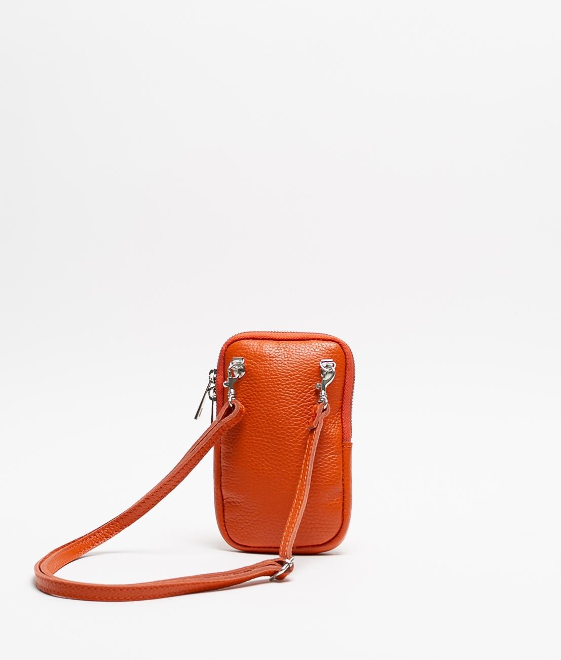 Sac en cuir Ivana - Orange