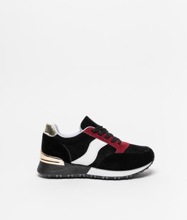 Sneakers Tenal - Black/Red
