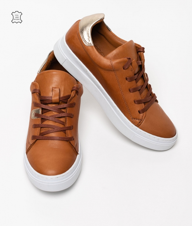 Sneakers Ruer - Camelo