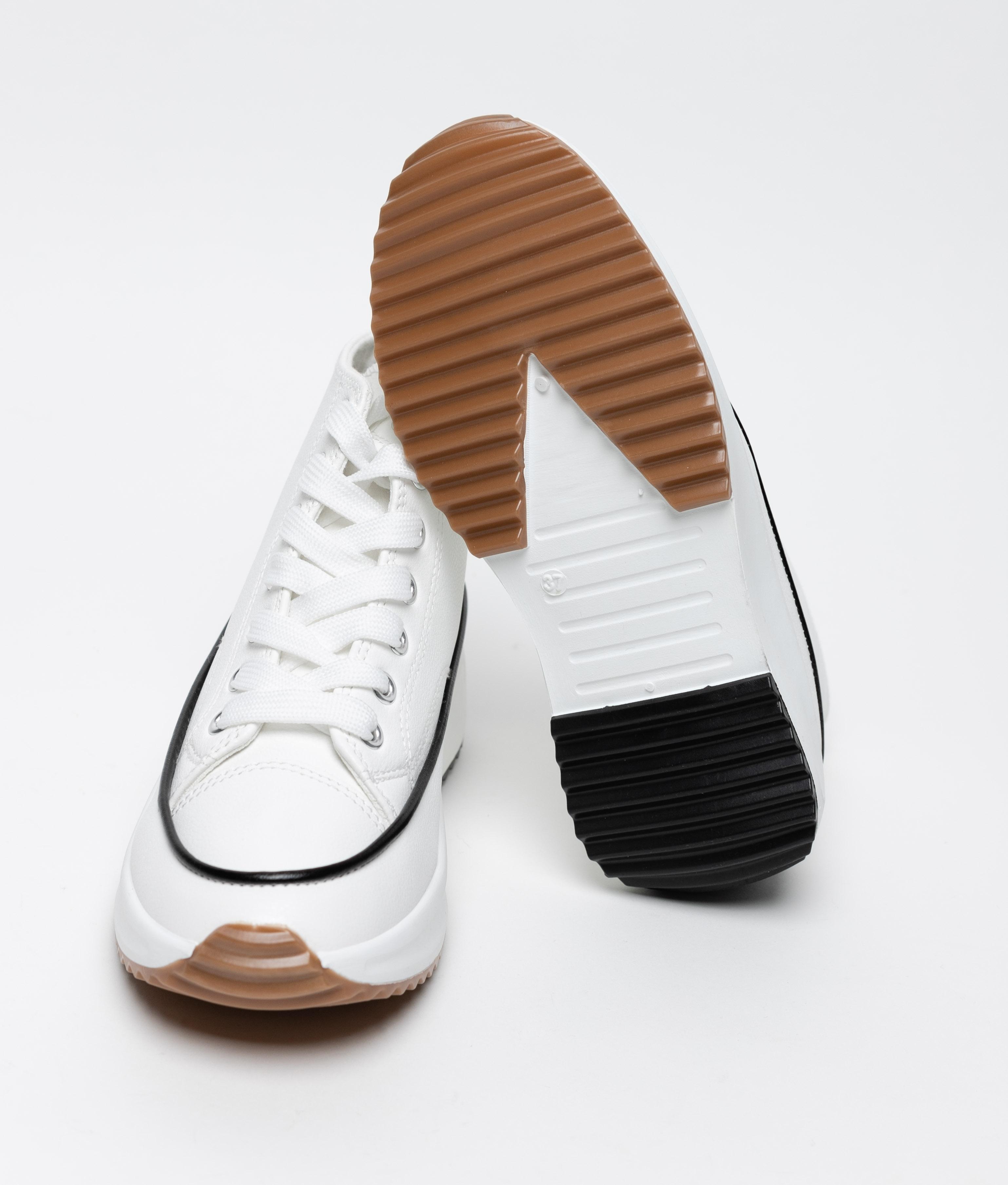 Sneakers Rimbal - Blanco Polipiel