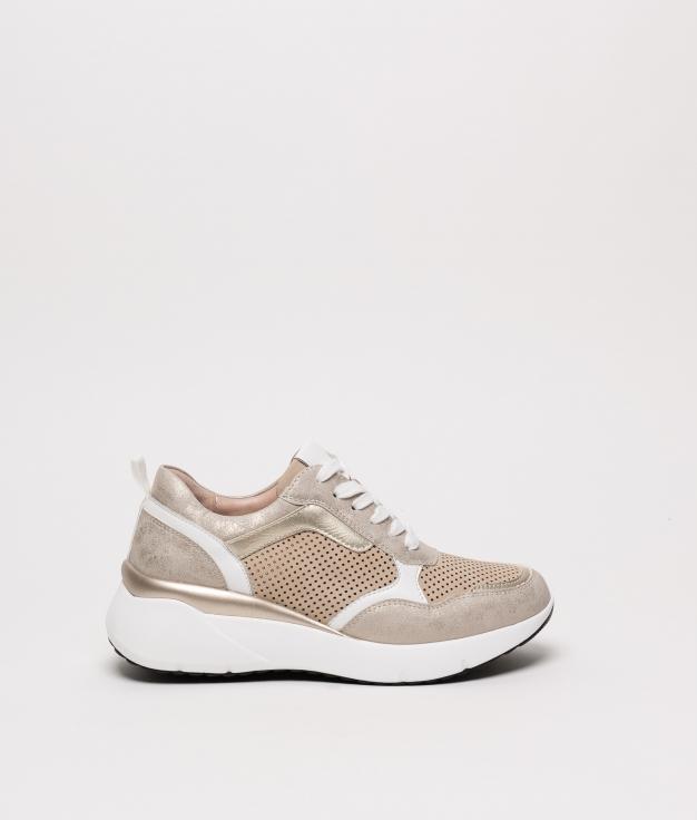Sneakers Golden - Or