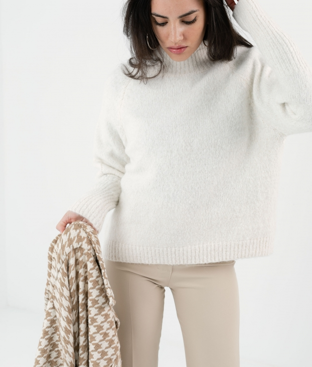SWEATER VINTI - WHITE