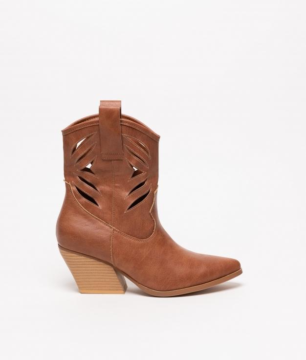 Boot Folik - Camel
