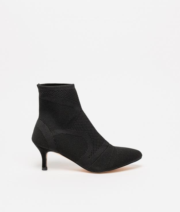 Low Boot Blok - Black
