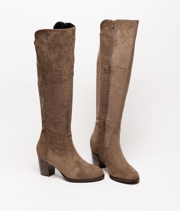 Knee-length Boot Grenta - Green
