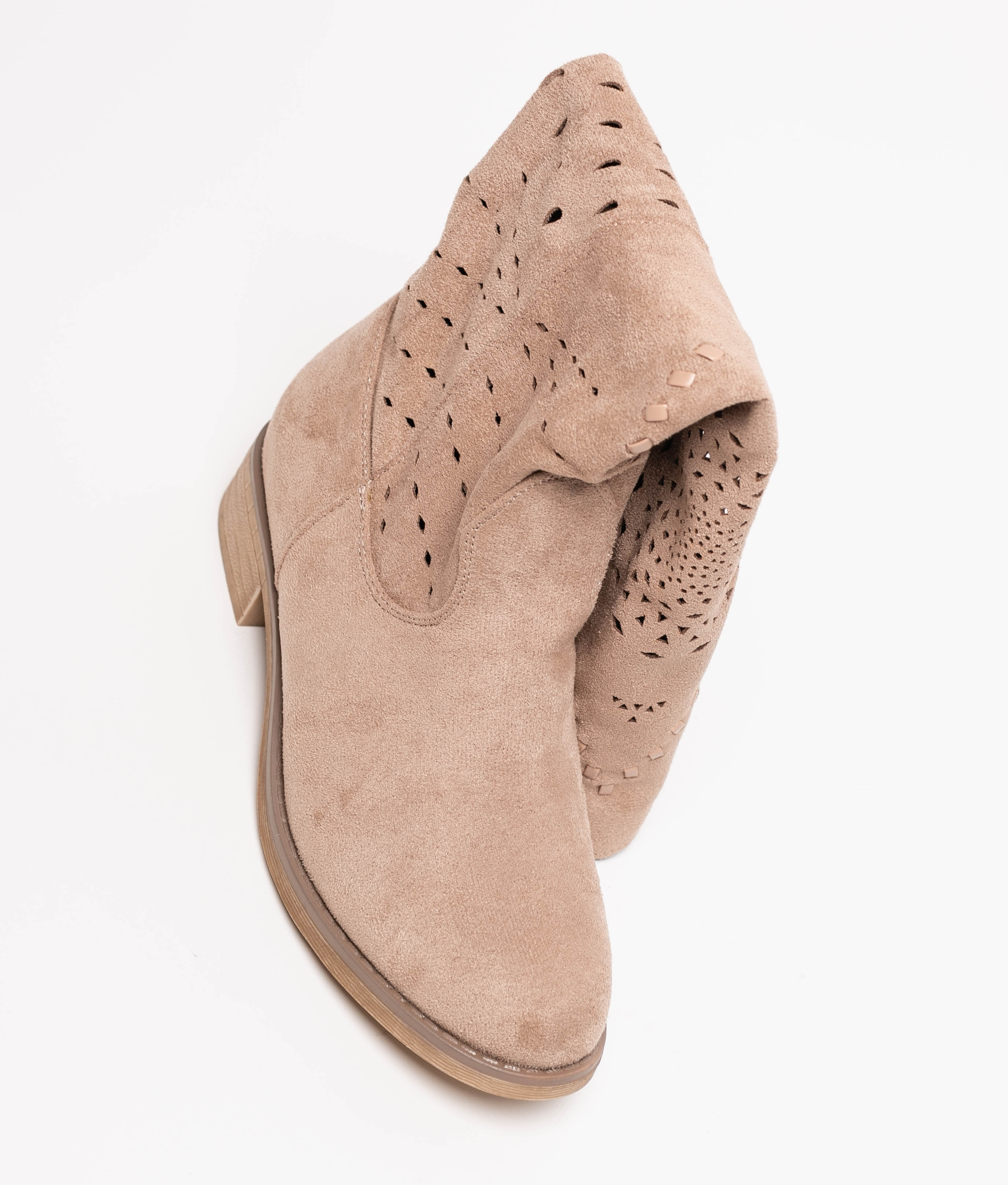 Knee-length Boot Tinir - Beige