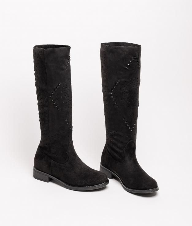 Knee-length Boot Tinir - Black