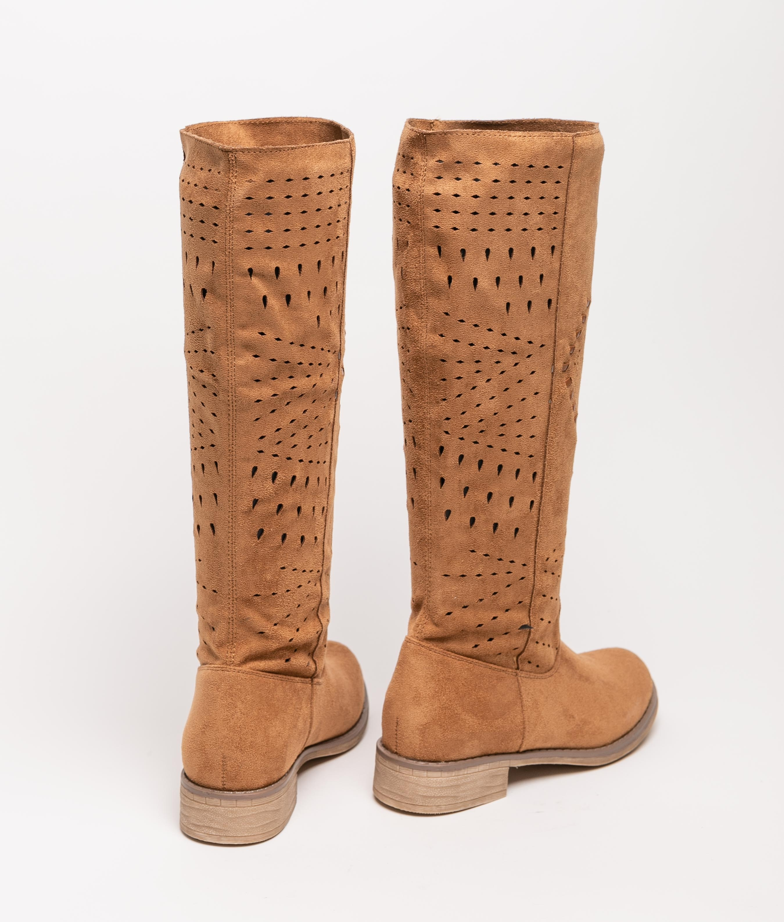 Knee-length Boot Tinir - Camel