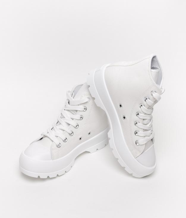 Sneakers Former - Blanc