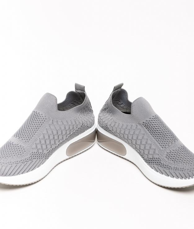 Sneakers Tronde - Cinza