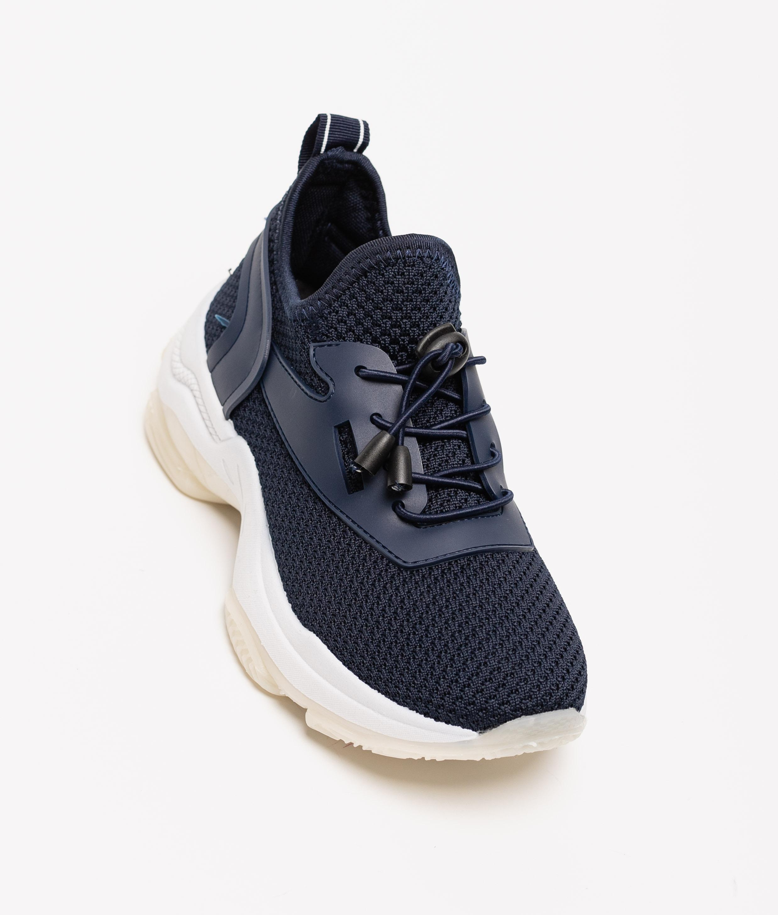 Sneakers Pumel - Blu Marino