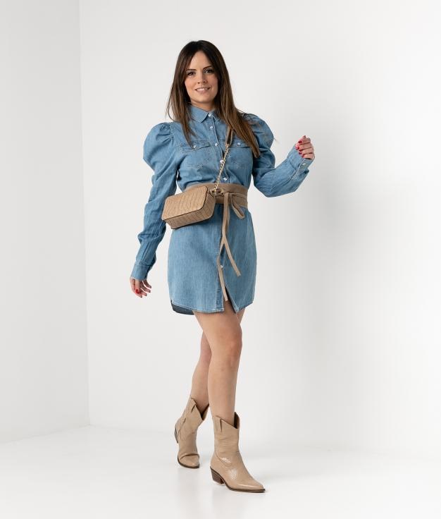 DRESS ARIVA - DENIM