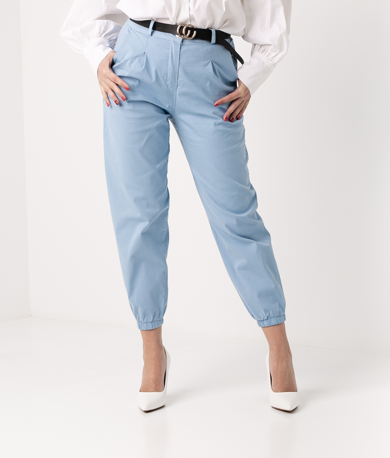 TROUSERS REXE - BLUE
