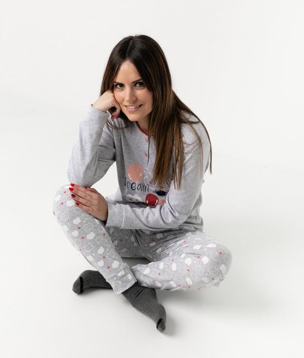 Pijama Azai - Grey