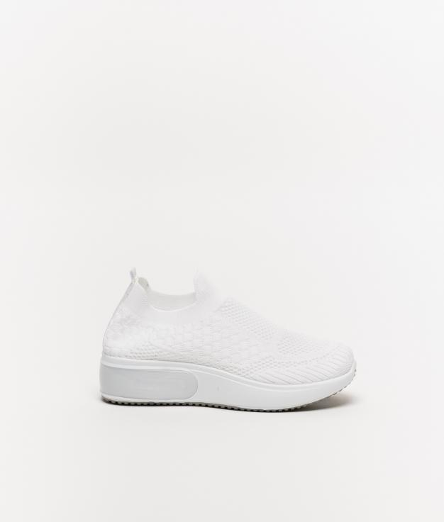 Sneakers Tronde - Bianco