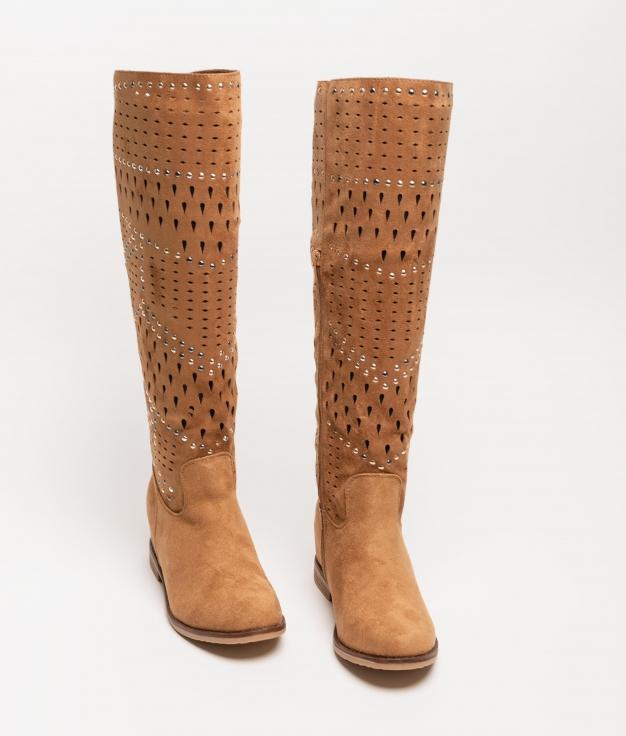 Knee-length Boot Condir - Camel