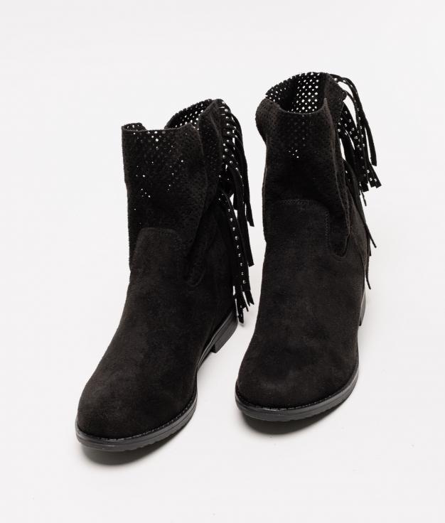 Low Boot Rendem - Black