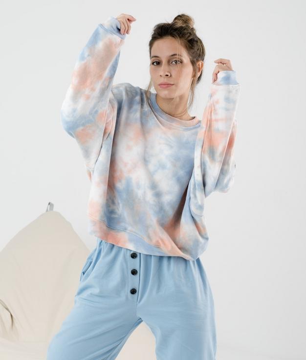 Sweatshirt Jirbol - Azul