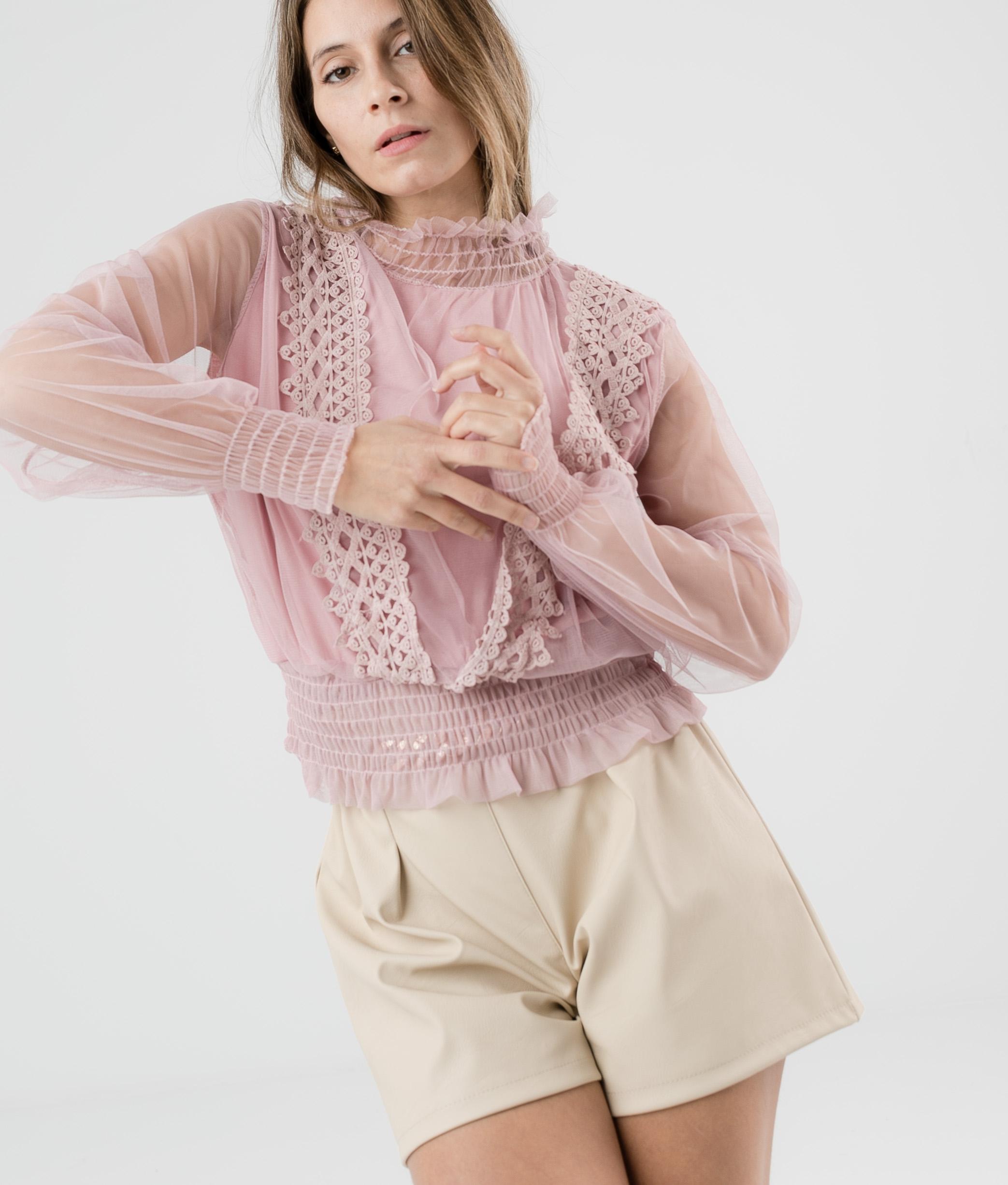 Blusa Falcom - Rosa