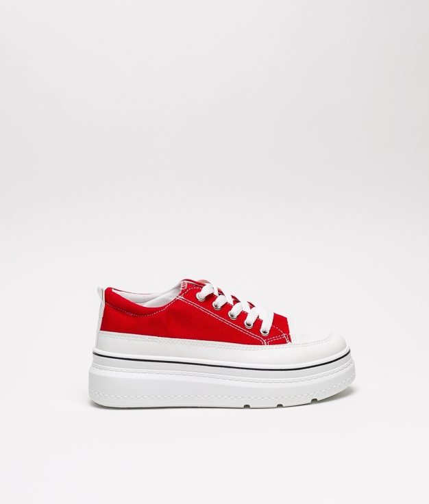Sneakers Plambi - Vermelho