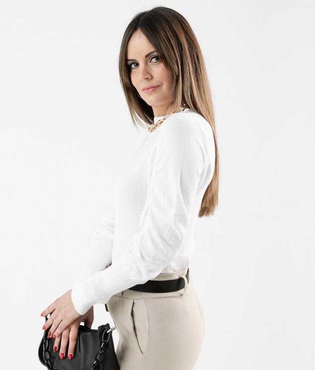 Sweater Calter - White
