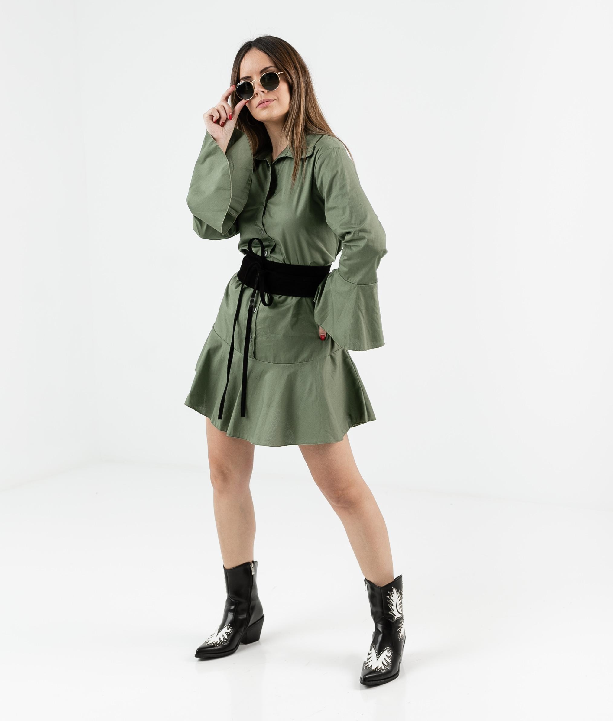 Vestido Cimes - Kaki