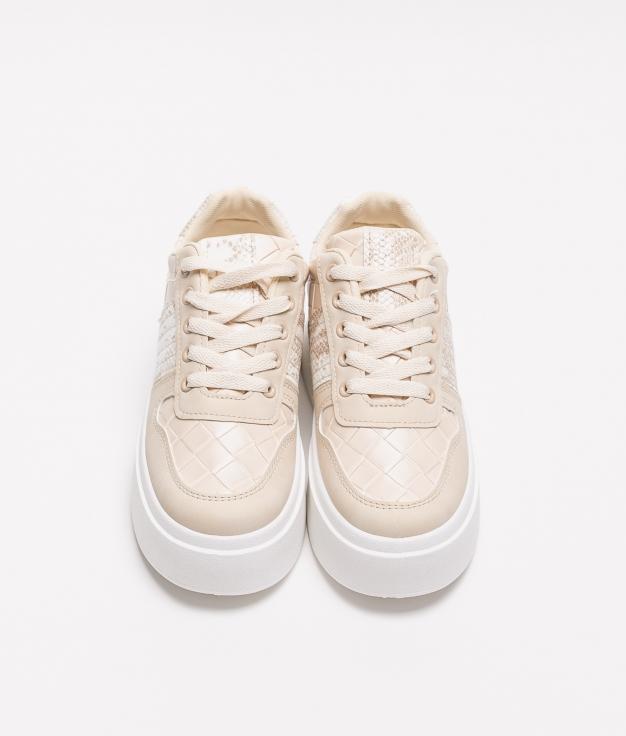 Sneakers Clot - Beige
