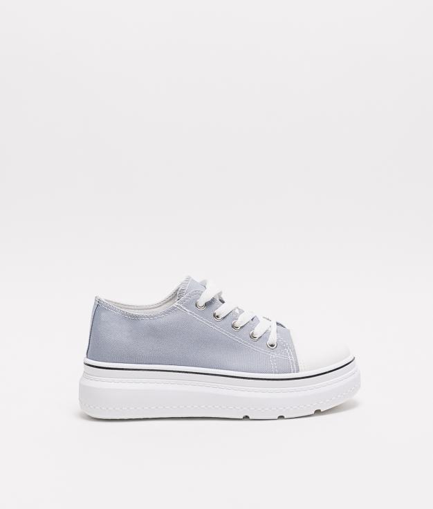 Sneakers Plum - Blue