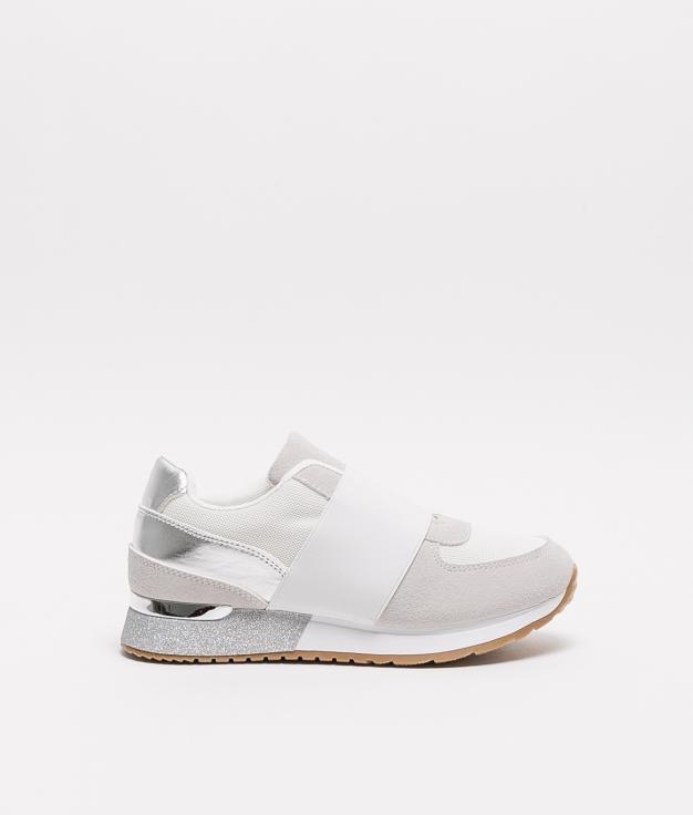 Sneakers Plonde - Blanco