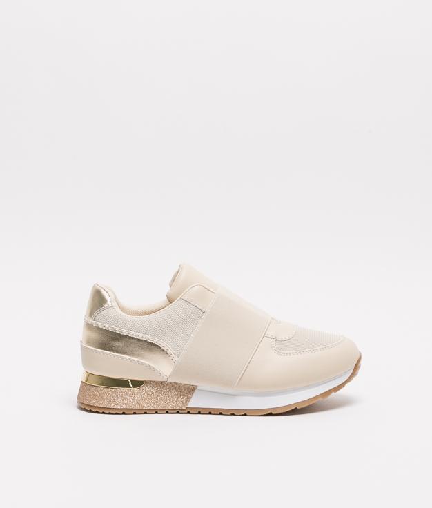 Sneakers Plonde - Beige